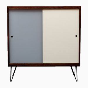 Walnut & Formica Highboard, 1960s