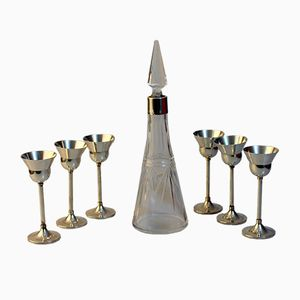 Set da liquori bohemien, anni '20