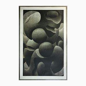 Abstract Lithograph, 1970s