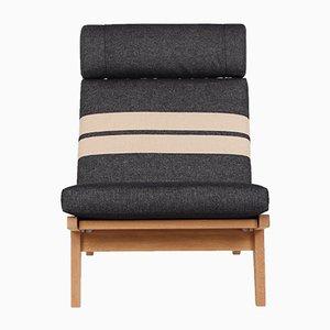 GE375 Sessel aus Eichenholz von Hans J. Wegner für Getama, 1960er