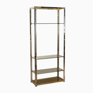Vintage Golden Bookcase