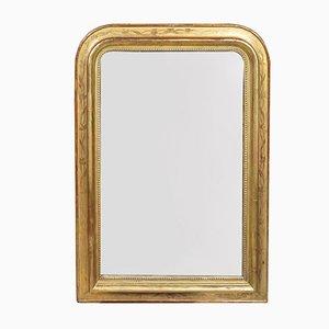 Specchio antico con incisioni floreali