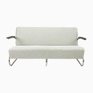 Freischwinger Sofa von Mücke Melder, 1930er
