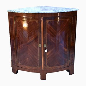 Antique Louis XVI Corner Cabinet