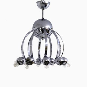 Vintage Chrome Chandelier