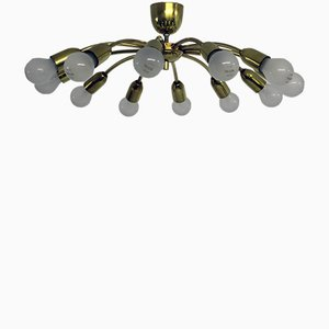 Vintage Sun Chandelier by J. T. Kalmar for Kalmar