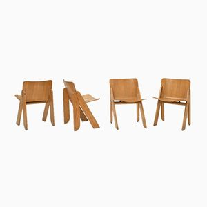 Peota Chairs by Gigi Sabadin for Stilwood 1973, Set of 4