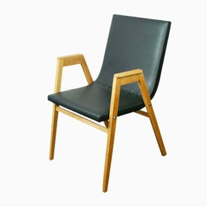 Austrian Stacking Armchair by Roland Rainer, 1950s