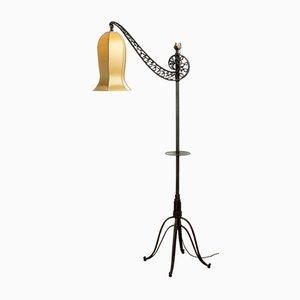 Art Deco Stehlampe, 1940er