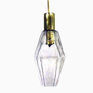 Poliedri Lampe von Carlo Scarpa für Venini, 1950er
