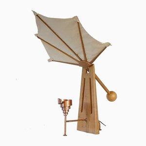 Lampada da tavolo Pavone di Duccio Trassinelli