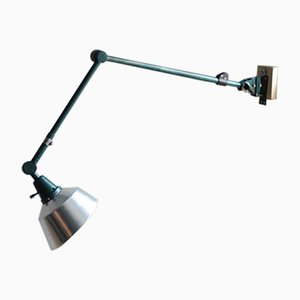 Large Vintage Articulated R2 Light with Aluminum Shade by Curt Fischer for Midgard