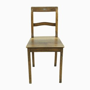 Antique Biedermeier Walnut Chair