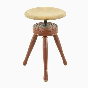 Antique Work Stool, 1900s