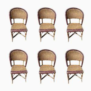 Chaises de Bistro, 1930s, Set de 6