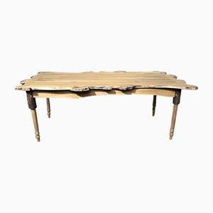 Mesa de comedor vintage de acacia de JL Claude
