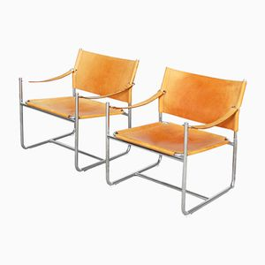 Vintage Amiral Lounge Chairs by Karin Mobring, Set of 2