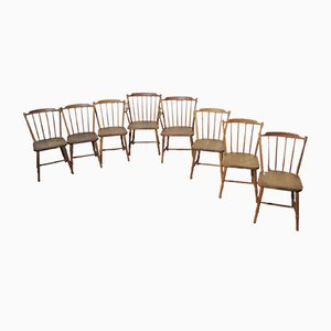 Dining Chairs by Børge Mogensen for FDB Møbler, 1940s, Set of 8