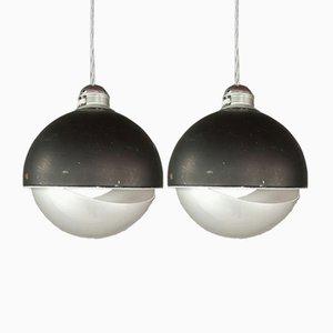 WL1105 Deckenlampen von Radboud Van Beekum für Raak, 1970er, 2er Set