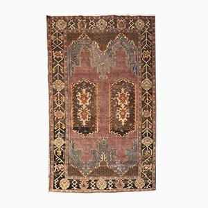 Antique Turkish Konya Hand Knotted Rug