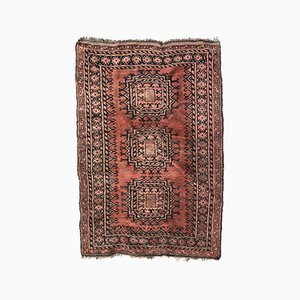 Antique Turkmen Hand Knotted Rug