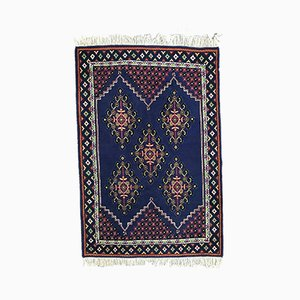 Vintage Tunisian Hand Knotted Rug