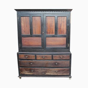 Large Antique Oak Cupboard, 1780s