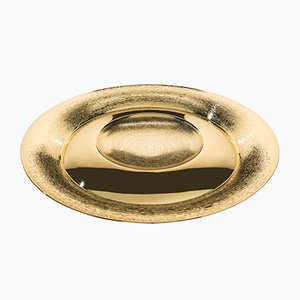 Large Gold Pantelleria Dish by Zanetto