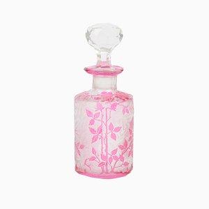 Bouteille de Parfum Cameo Antique en Verre de Baccarat