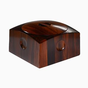 Cocobolo Ice Bucket by Jens Quistgaard, 1960s