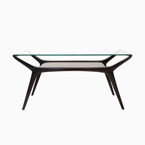 Italian Lacquered Coffee Table, 1950s