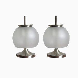 Lámparas modelo Chi de Emma Gismondi Schweinberger para Artemide, años 60. Juego de 2