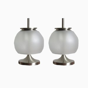 Modell Chi Lampen von Emma Gismondi Schweinberger für Artemide, 1960er, 2er Set