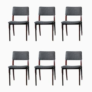 Dining Chairs by Eugenio Gerli for Tecno, 1950s, Set of 6