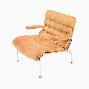 Vintage Model Karin Lounge Chair by Bruno Mathsson for Dux