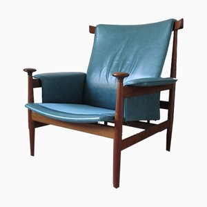Vintage Bwana Lounge Chair by Finn Juhl for France & Søn