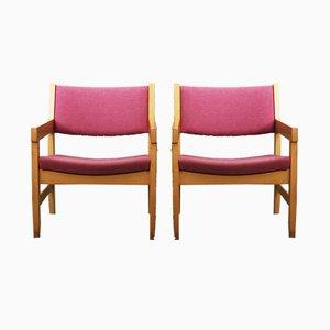 Dänische Stühle aus Buche von Hans J Wegner, 1970er, 6er Set
