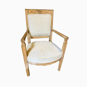 Antique Wooden Armchair