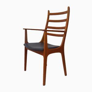 Stuhl aus Teak von Kai Kristiansen für Korup Stolefabrik, 1960er