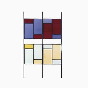 Paravent Mid-Century Moderne Coloré, Italie