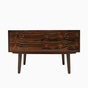 Small Danish Rosewood Sideboard, 1950s