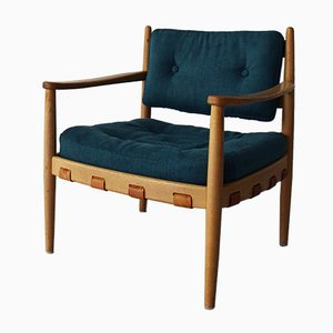 Oak Cadett Armchair by Eric Merten for Ire Möbel AB, 1960s