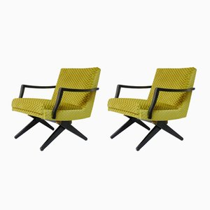 Elevator Cocktail Chairs, 1960s, Set of 2