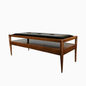 Mid-Century Danish Teak Coffee Bench