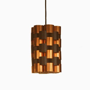 Mid-Century Danish Copper Hanging Lamp