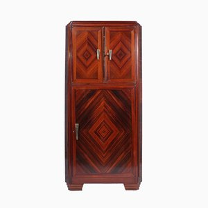 Art Deco Cocktail Schrank aus Palisander