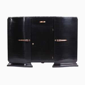 Art Deco Piano Lacquer Sideboard, 1930s