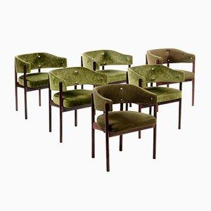 Italienische Mid-Century Stühle, 6er Set