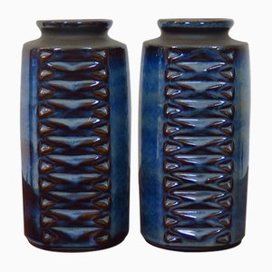 Ceramic Vases by Einar Johansen for Søholm, 1960s, Set of 2