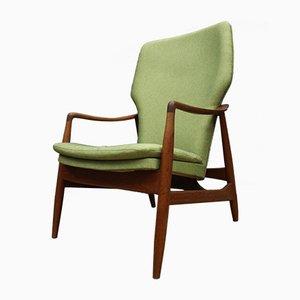 Sessel mit Gestell aus Teak von Johannes Andersen für R. Skovgaard Jensen, 1950er